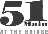 51 Main at the Bridge Logo