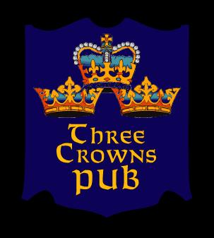 Three Crowns Pub Logo
