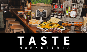 Taste Marketeria Logo