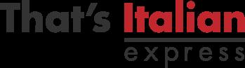 that's italian express logo
