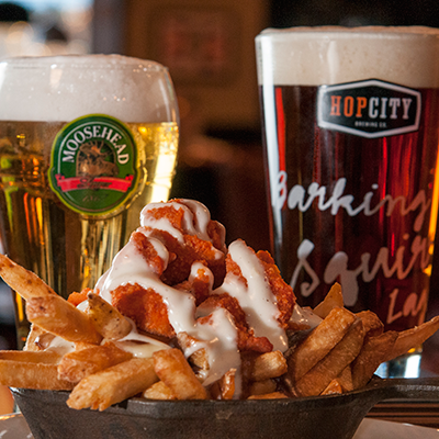 Firkin Group of Pubs Buffalo Chicken and Fries