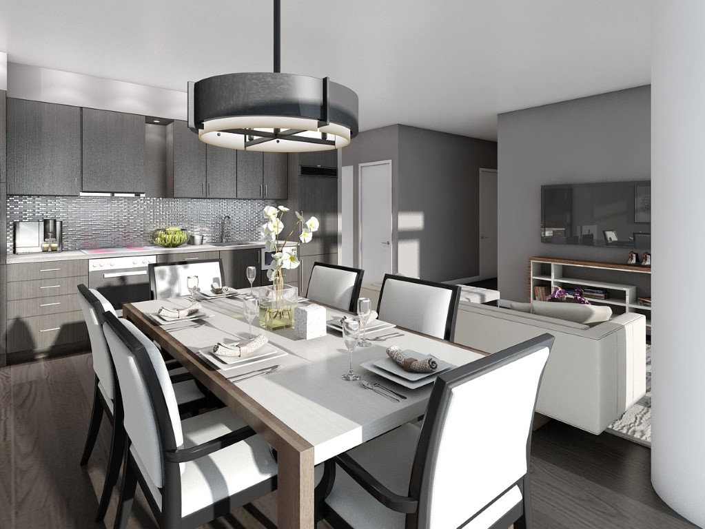 87 Peter Penthouse Suite <br> <small>Rendering is artist's impression. E. & O. E.</small>