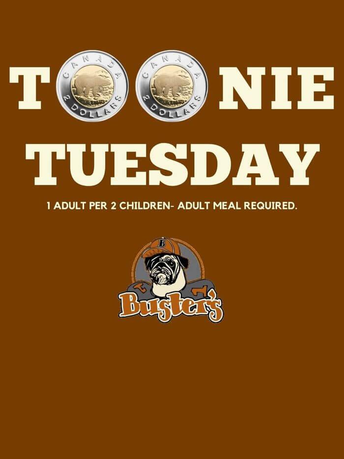 Promotions Tooney Tuesdays