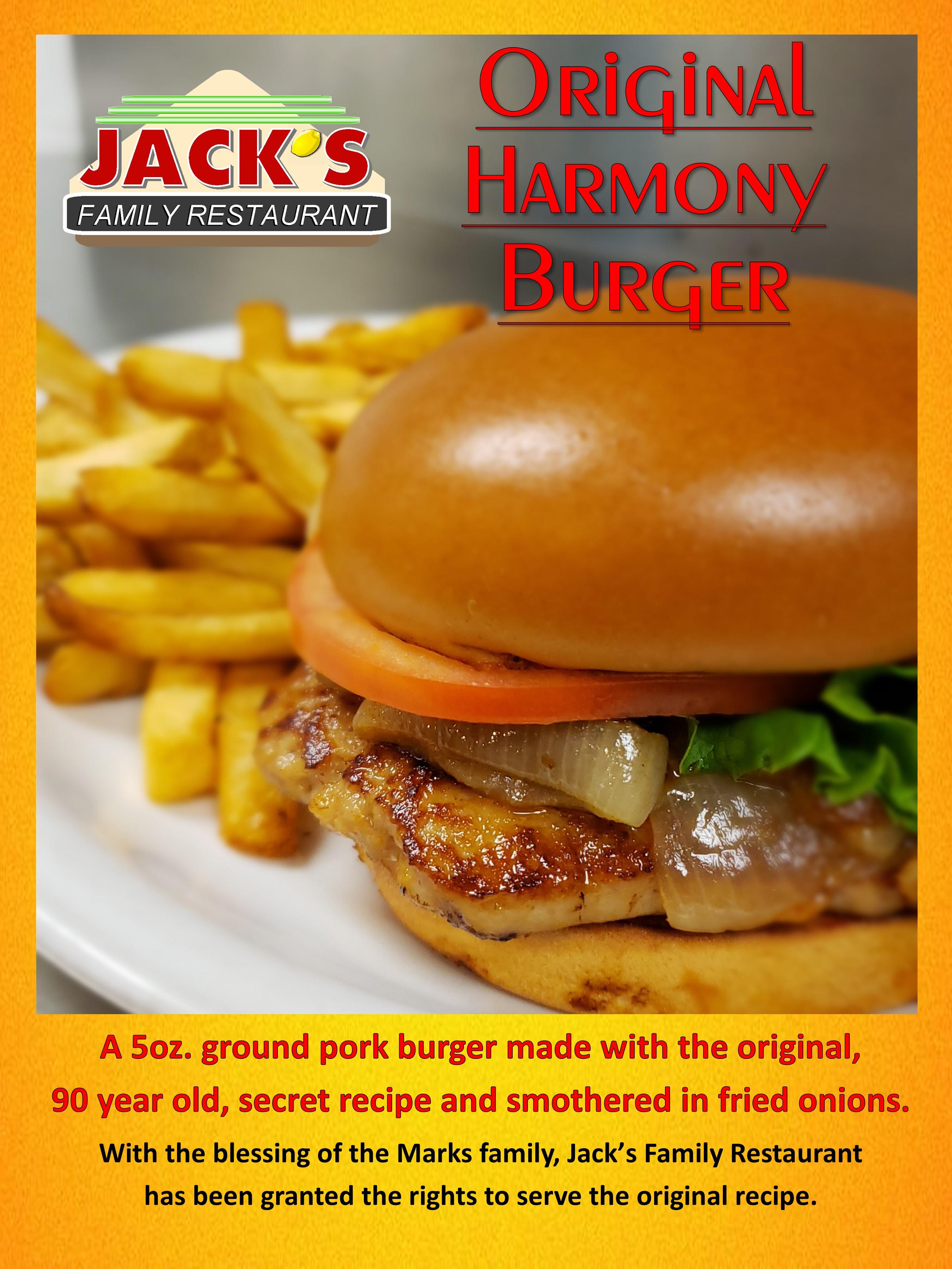 Harmony Burger
