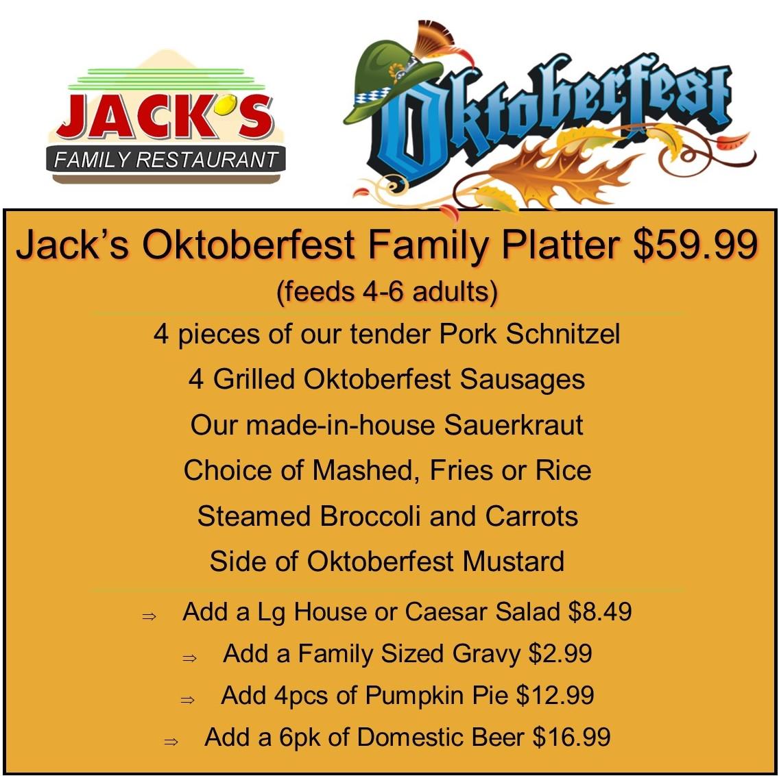 Oktoberfest Platter