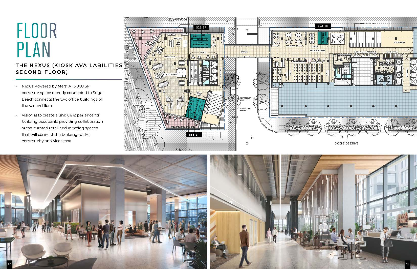 Floorplan thumbnail of The Nexus (Kiosk Availabilities 2nd Floor)