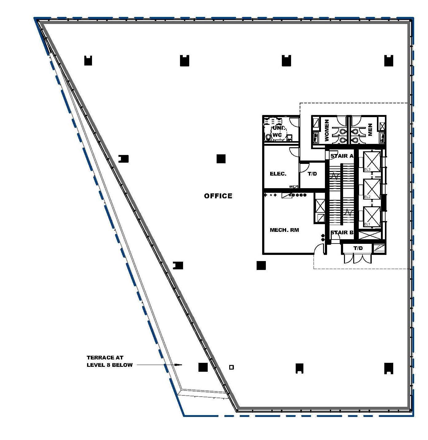 Floorplan thumbnail of The Exchange - 9th floor