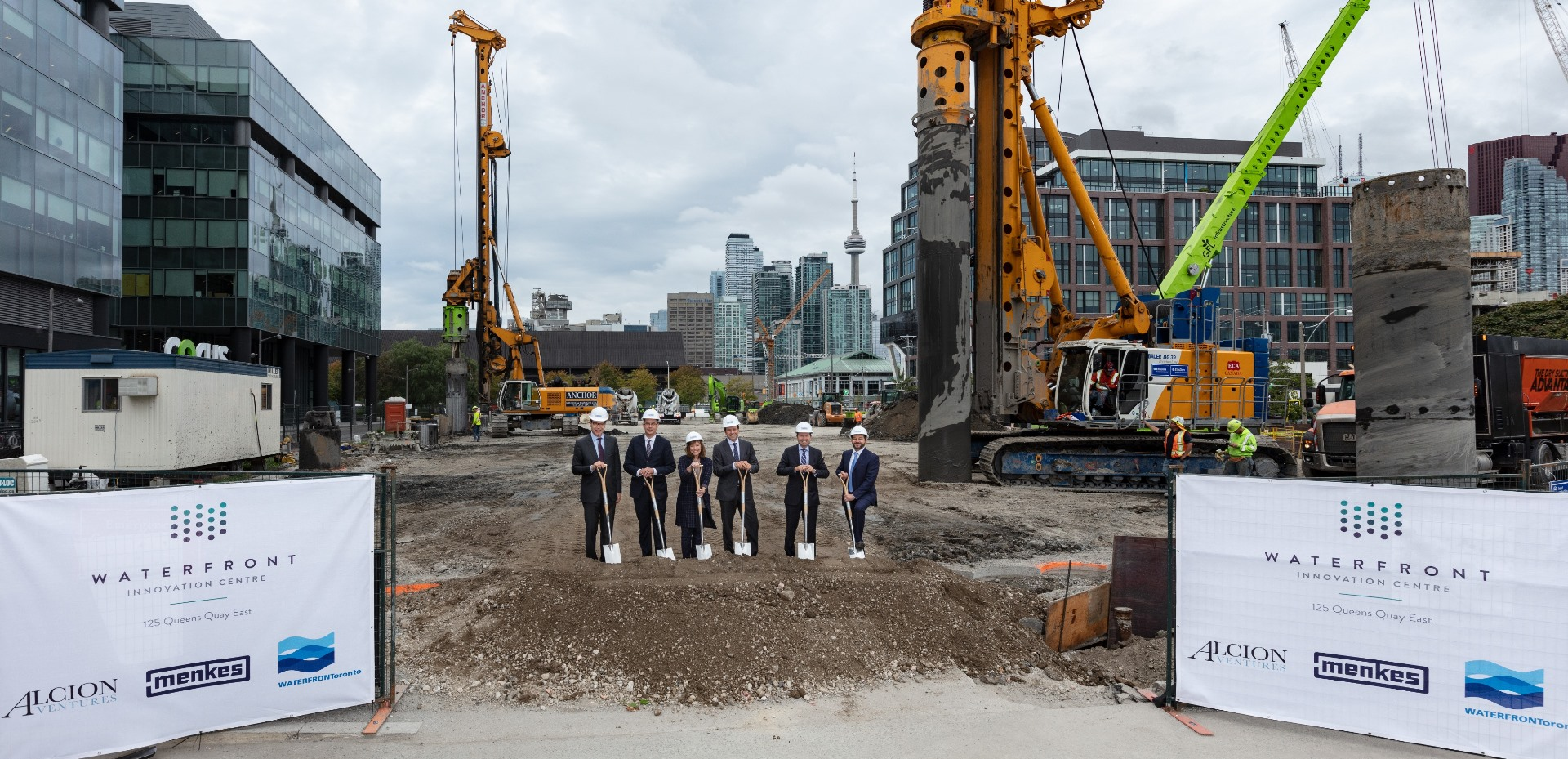 Waterfront Innovation Centre Groundbreaking