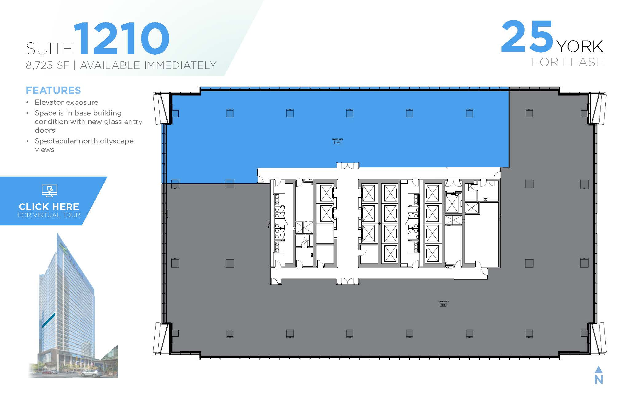 Floorplan thumbnail of Suite 1210