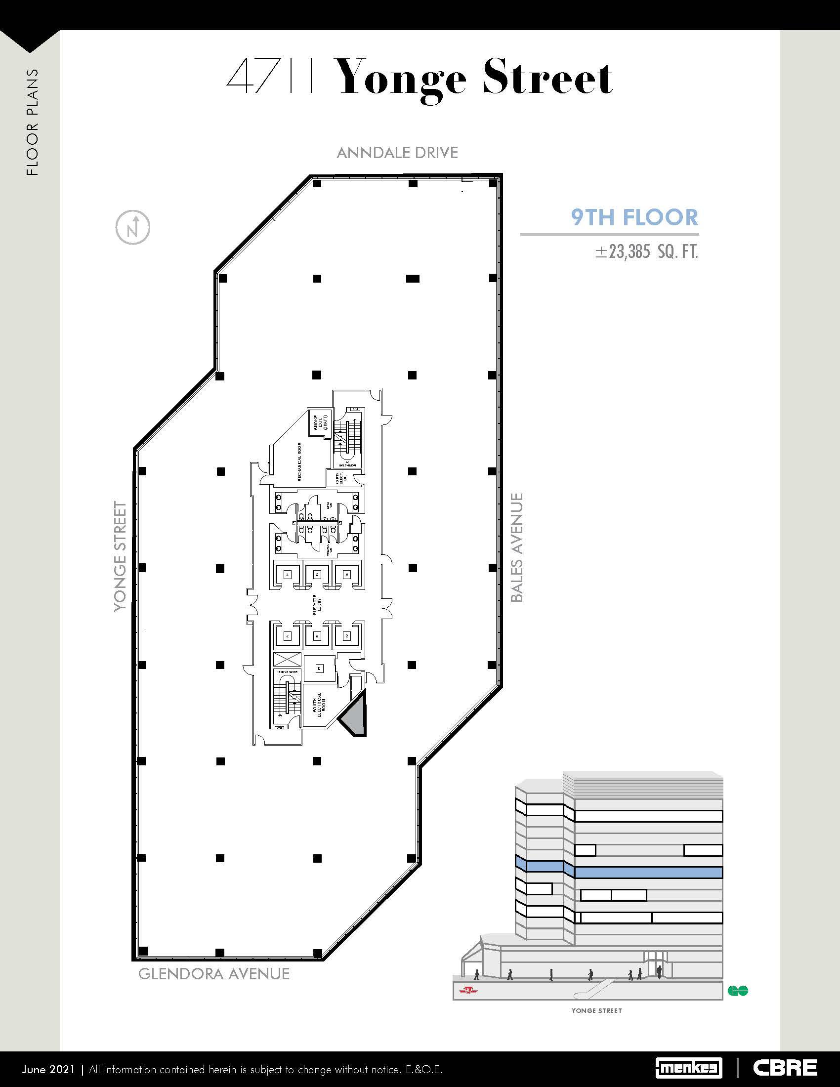 Floorplan thumbnail of Suite 900