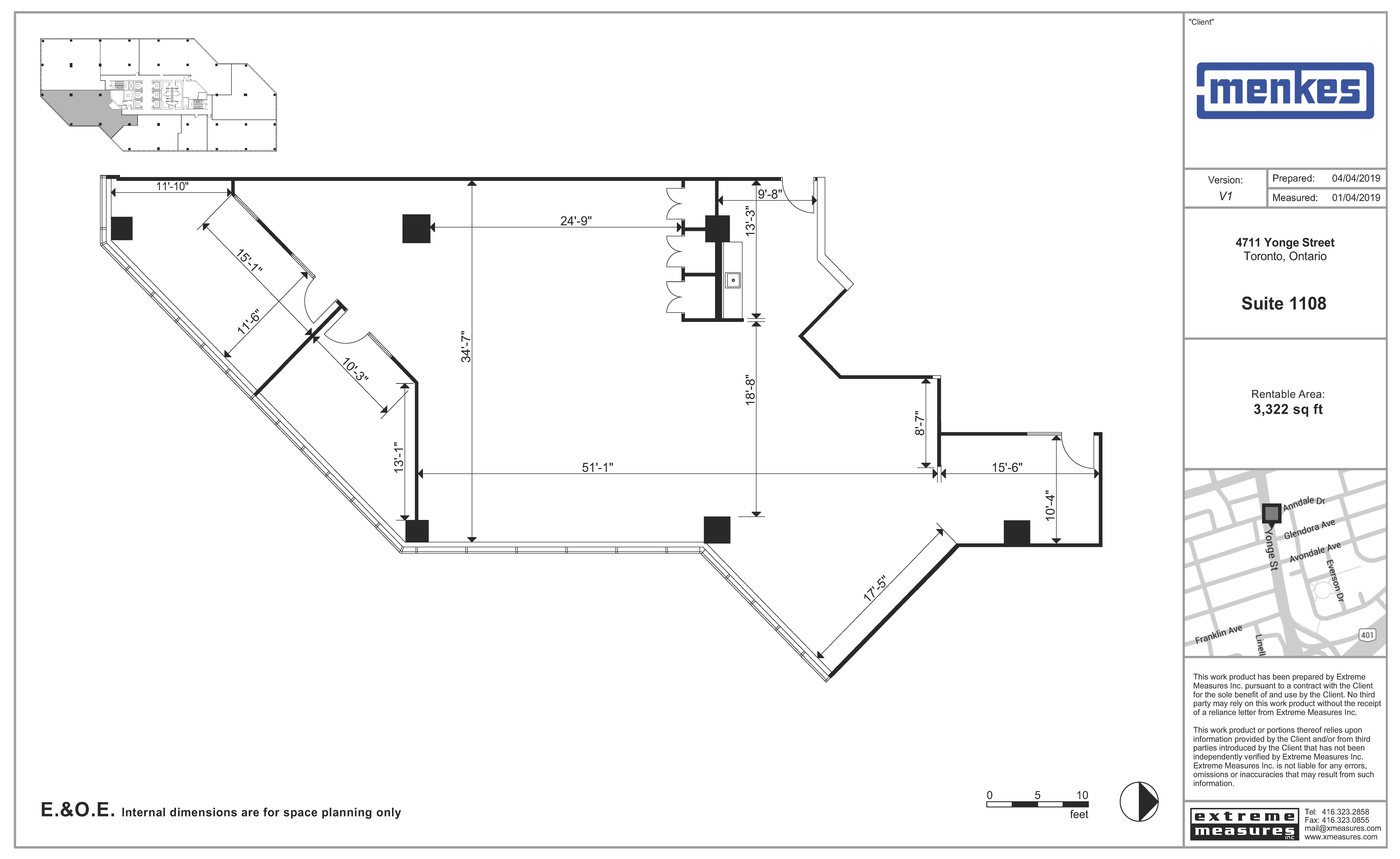 Floorplan thumbnail of Suites 1108