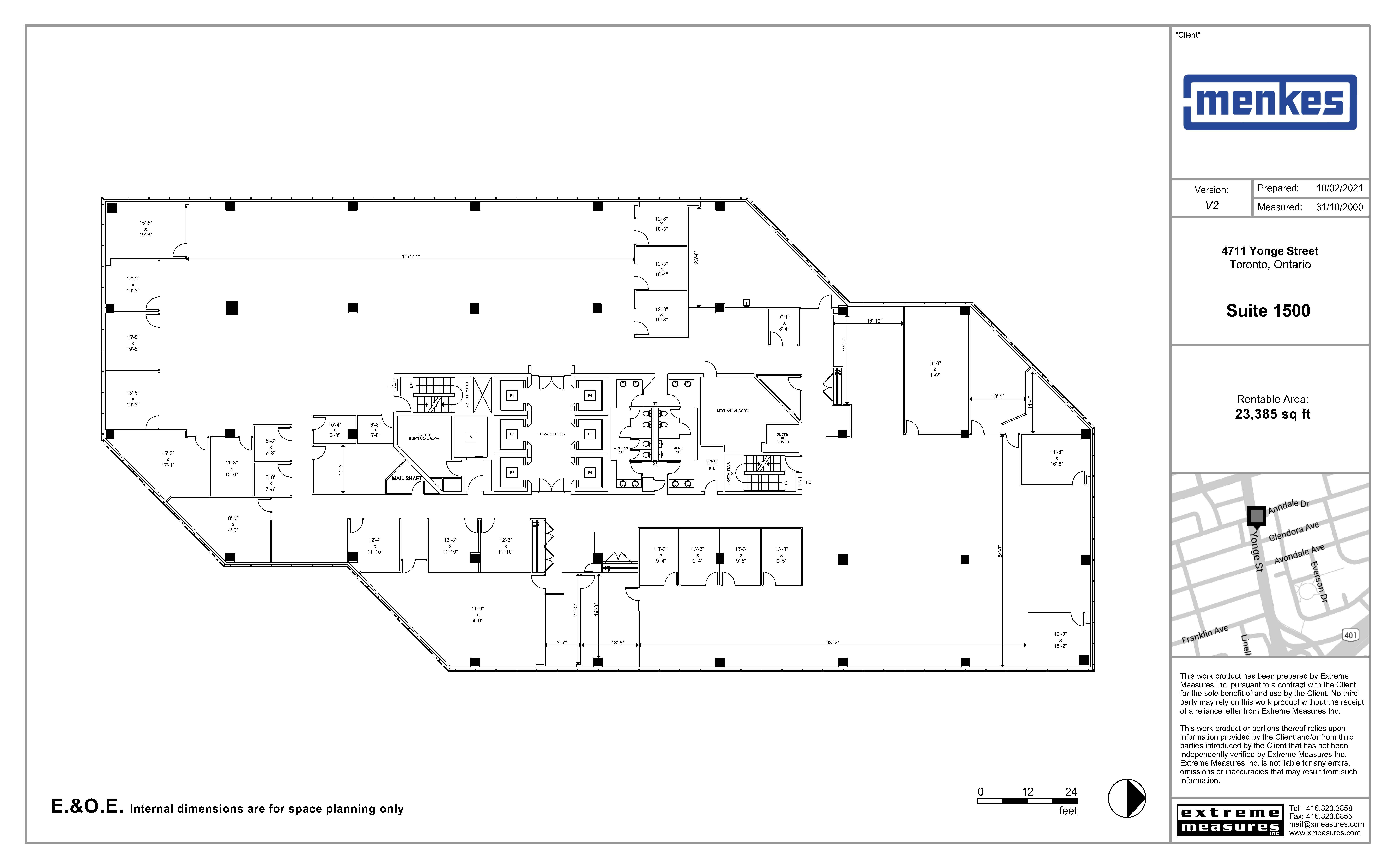 Floorplan thumbnail of Suite 1500