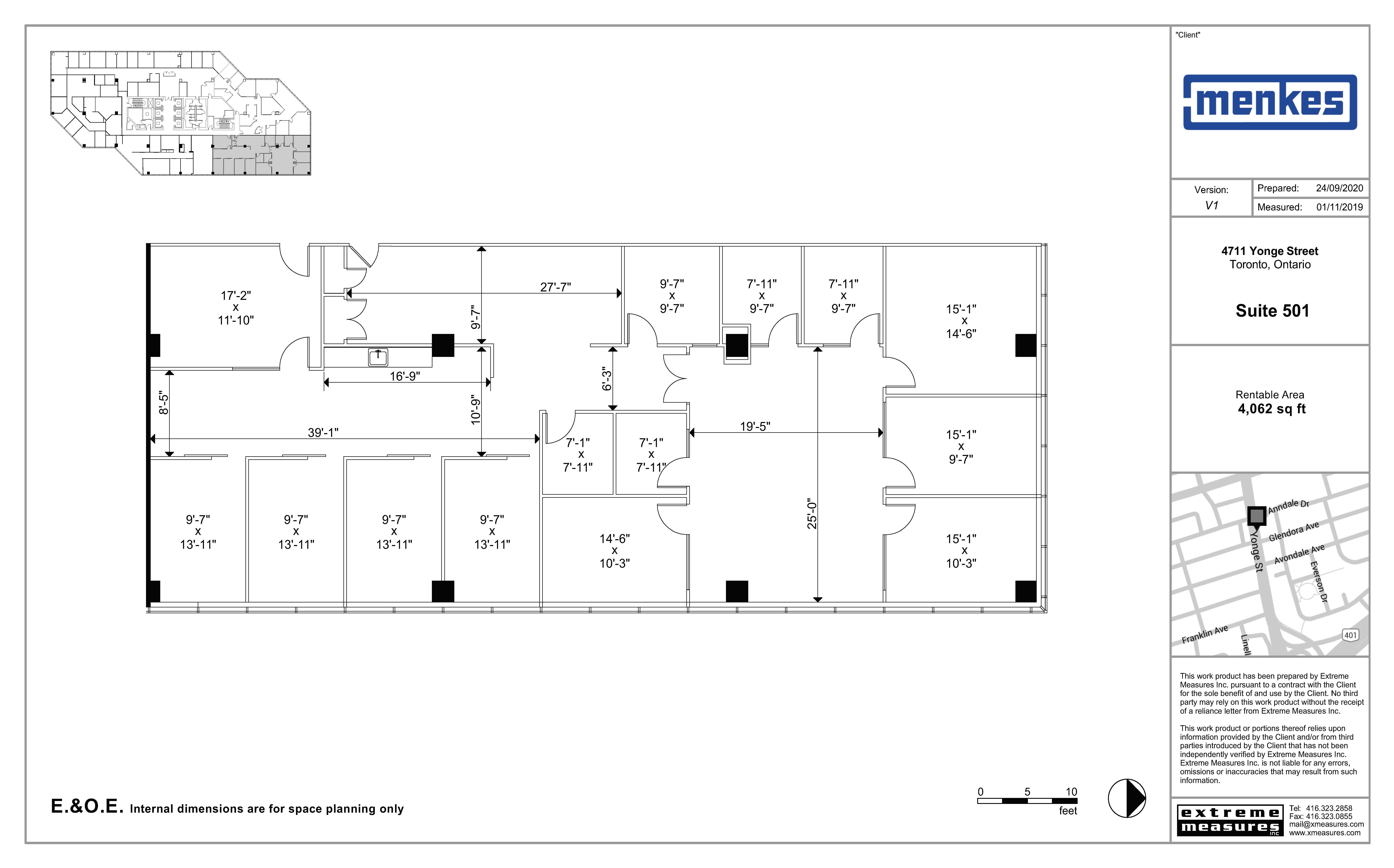 Floorplan thumbnail of Suite 501