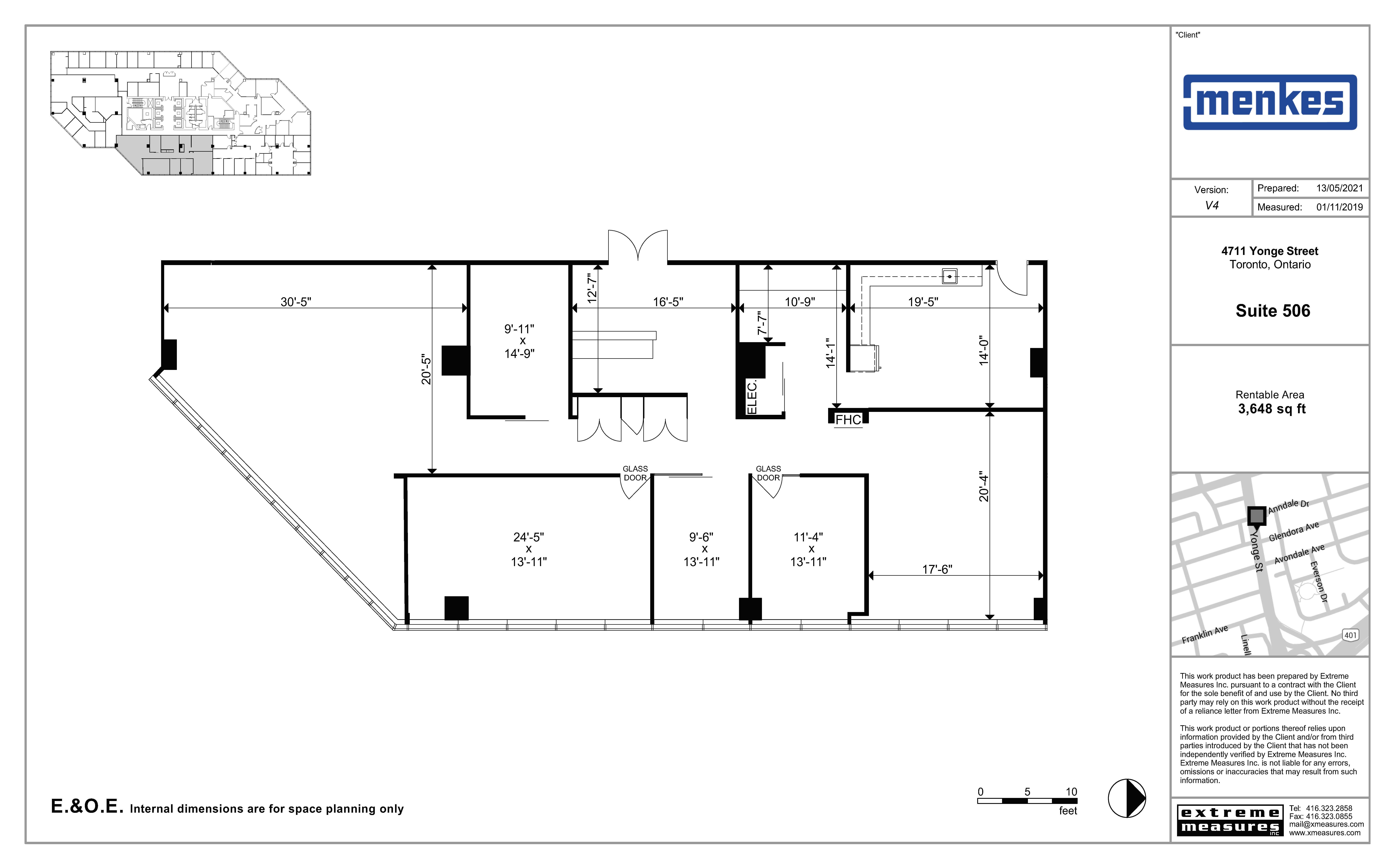 Floorplan thumbnail of Suite 506