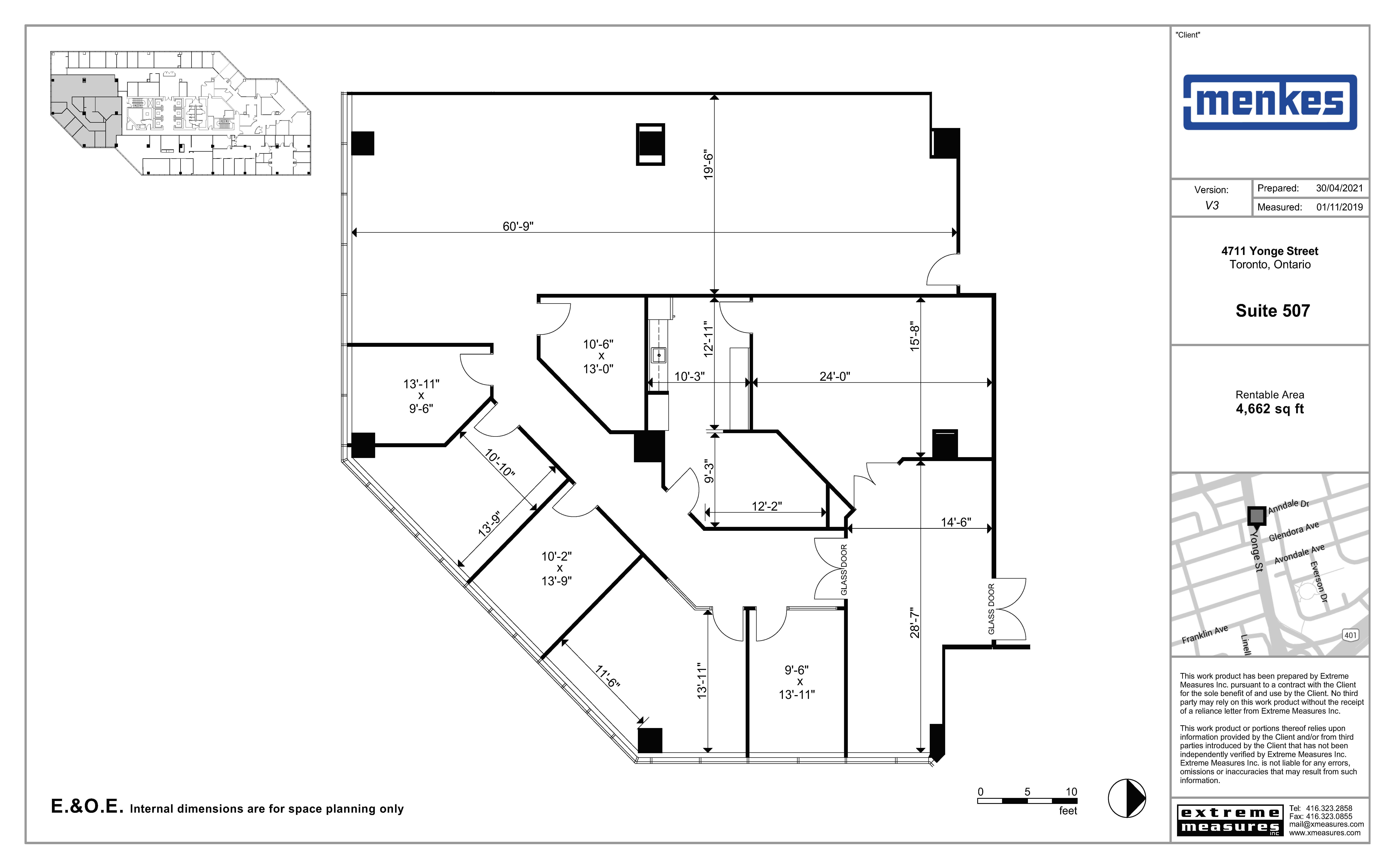 Floorplan thumbnail of Suite 507