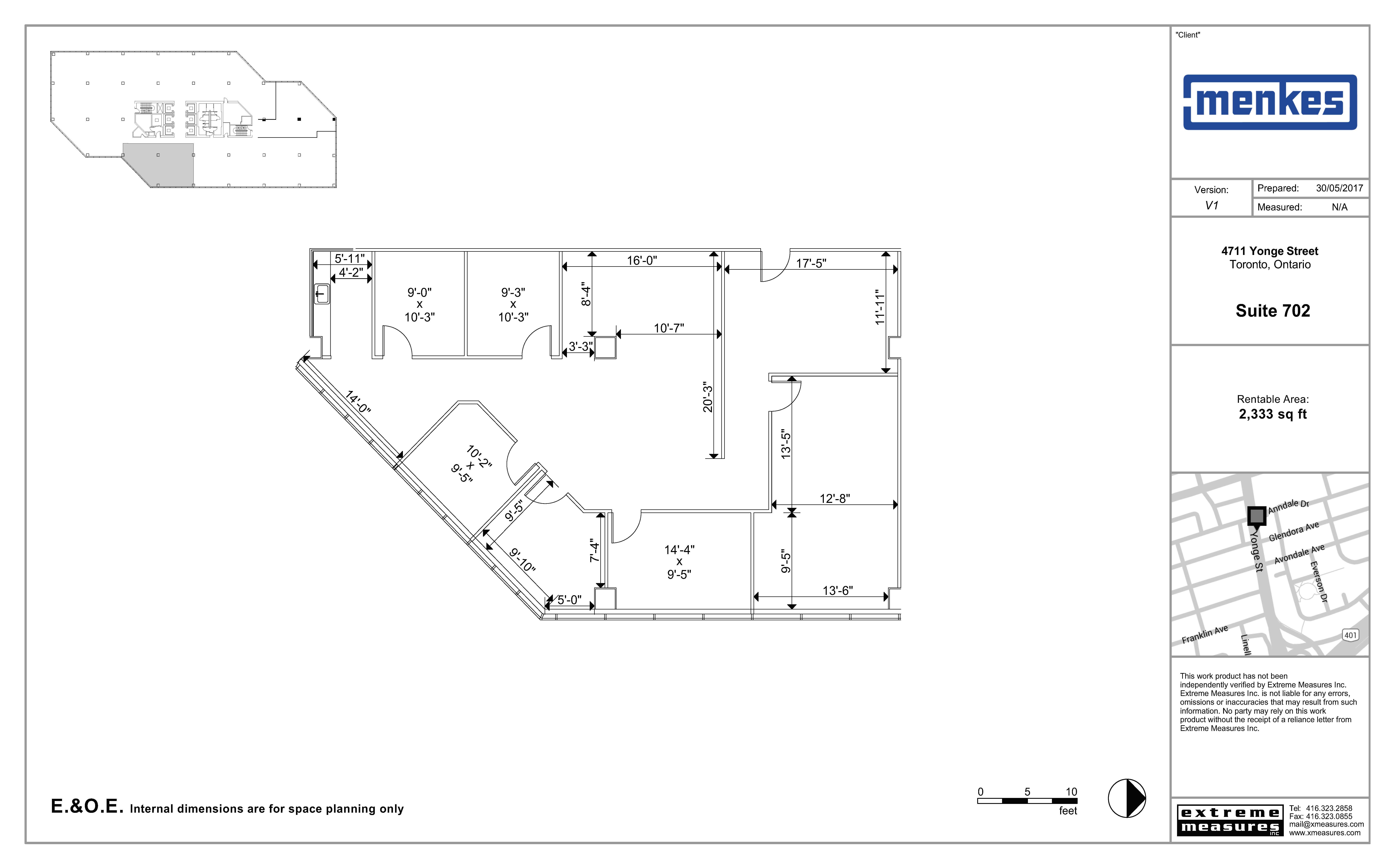 Floorplan thumbnail of suite 702