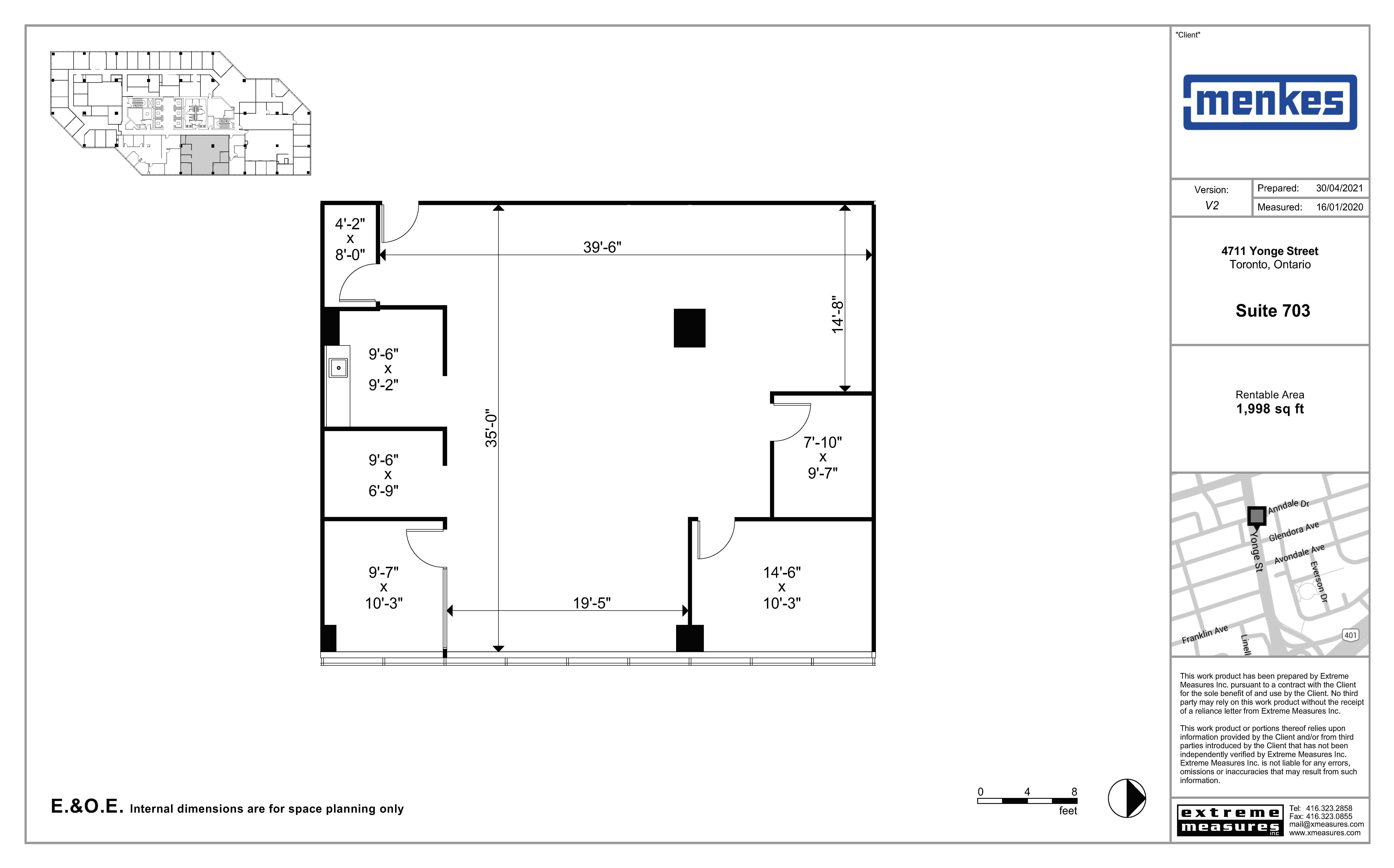 Floorplan thumbnail of Suite 703
