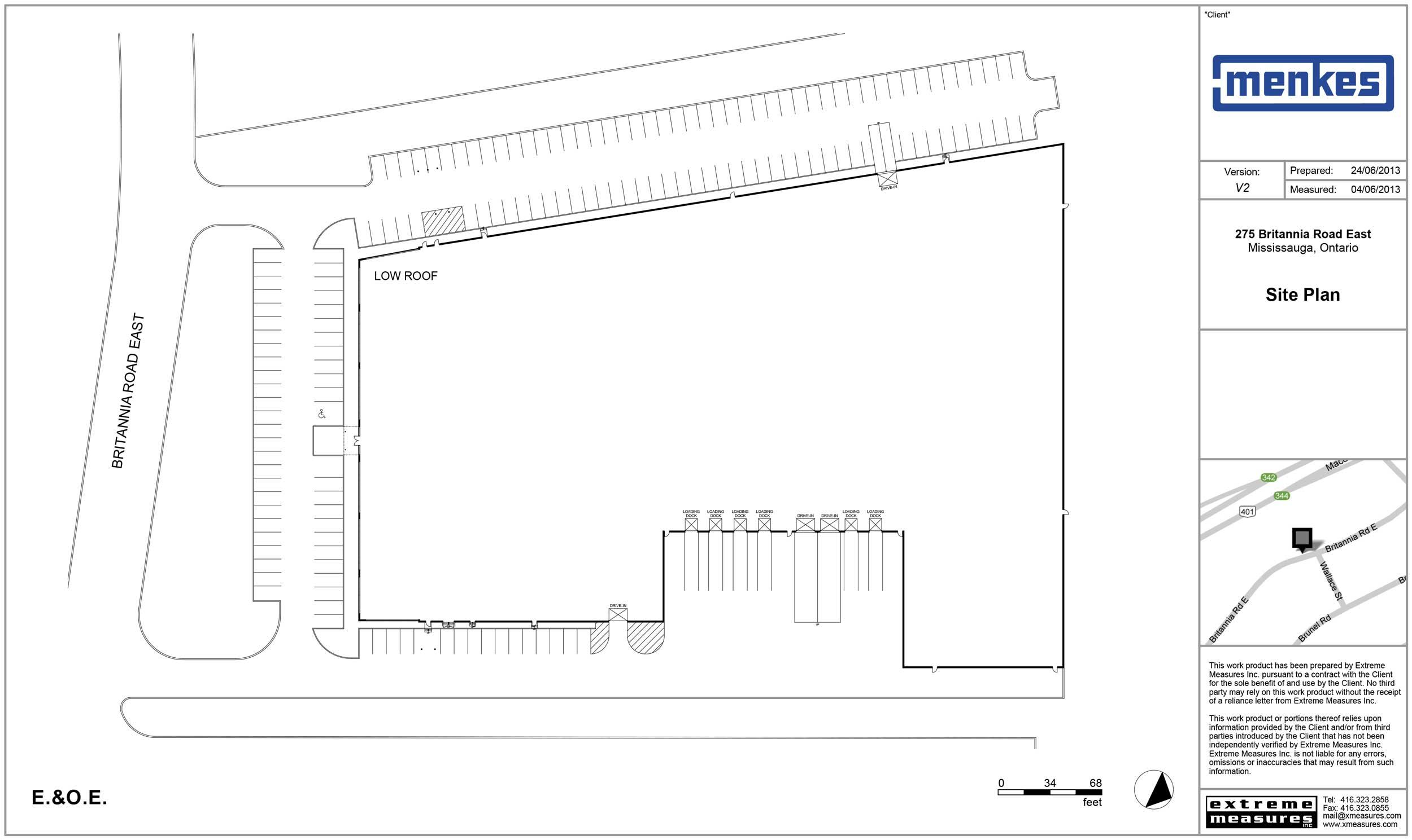 275 Britannia Road E Site Plan
