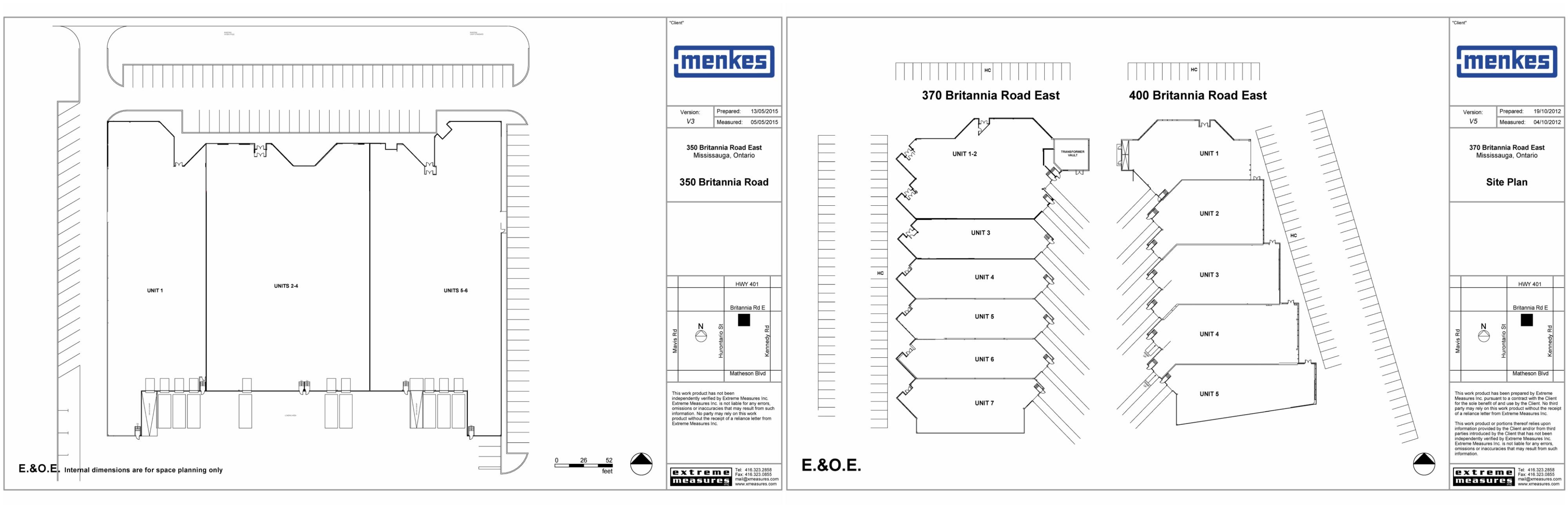 350-400 Britannia Rd E Site Plan