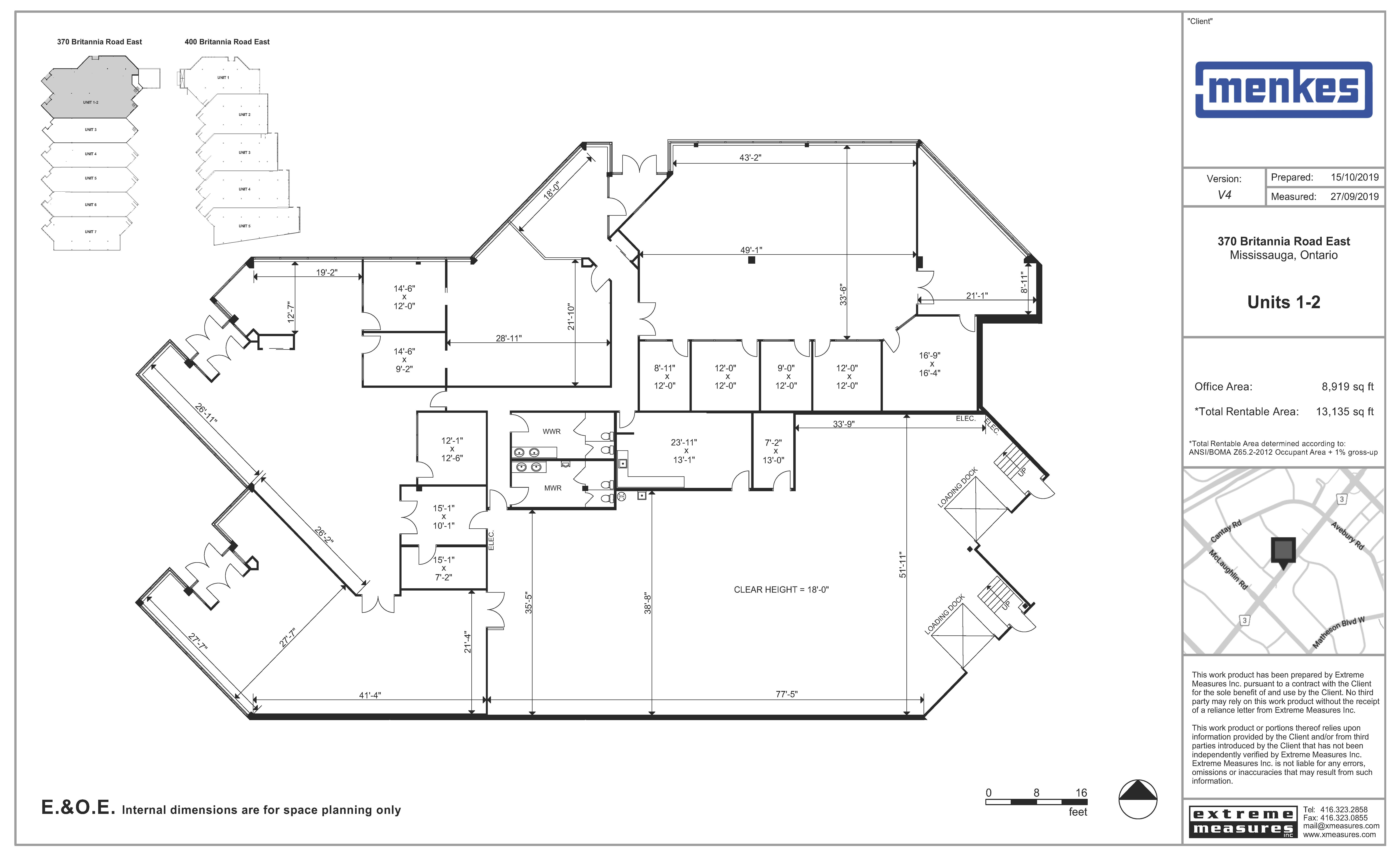 Floorplan thumbnail of Units 1-2