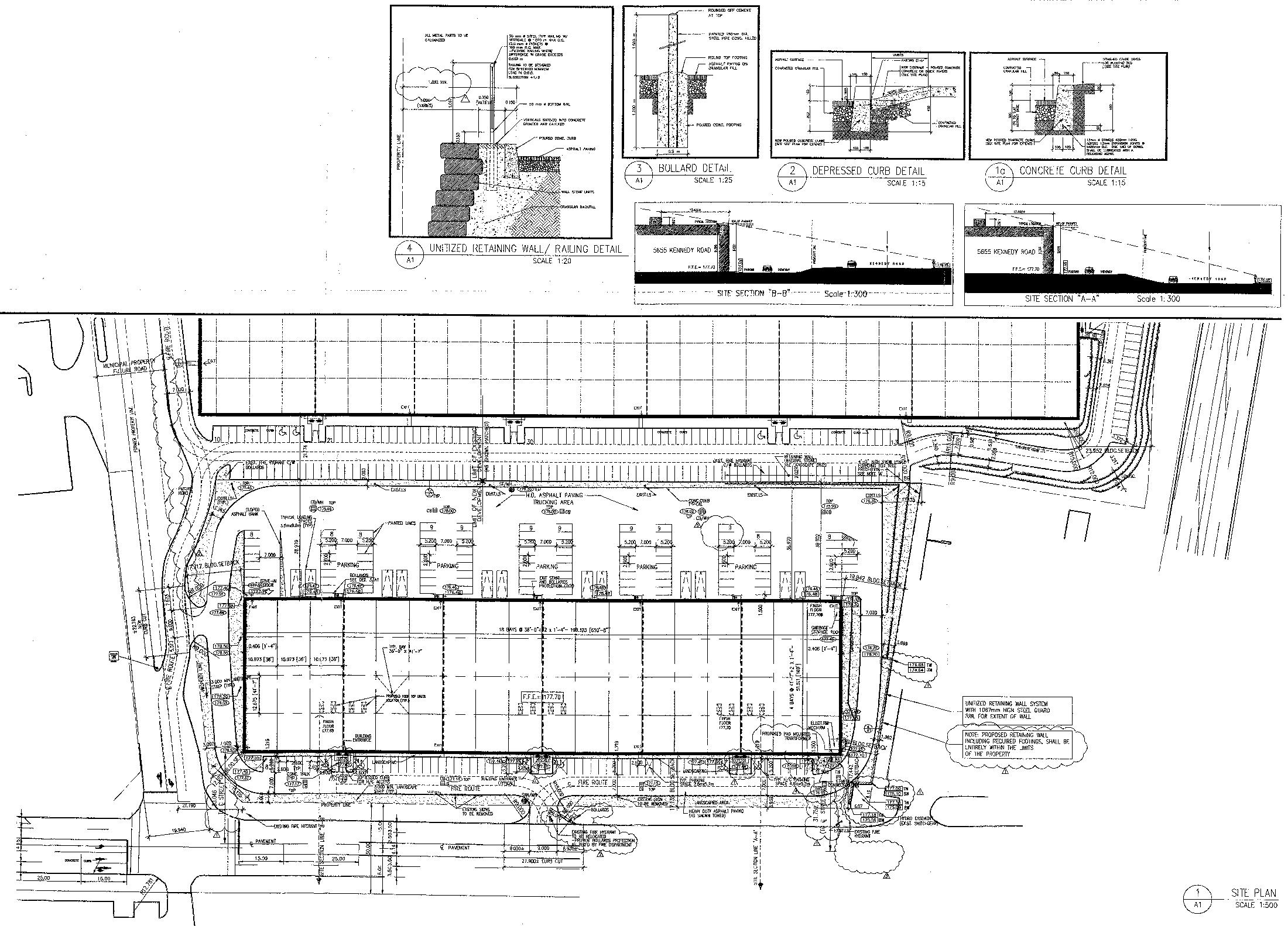 5655 Kennedy & 550-570 Matheson E Site Plan