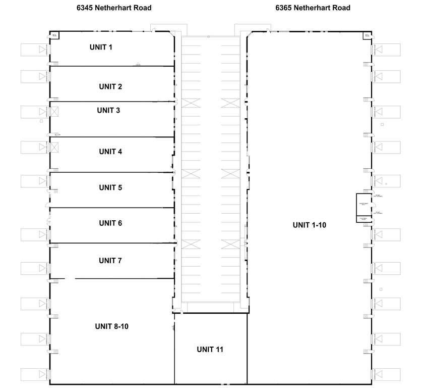 6345 & 6365 Netherhart Road Site Plan
