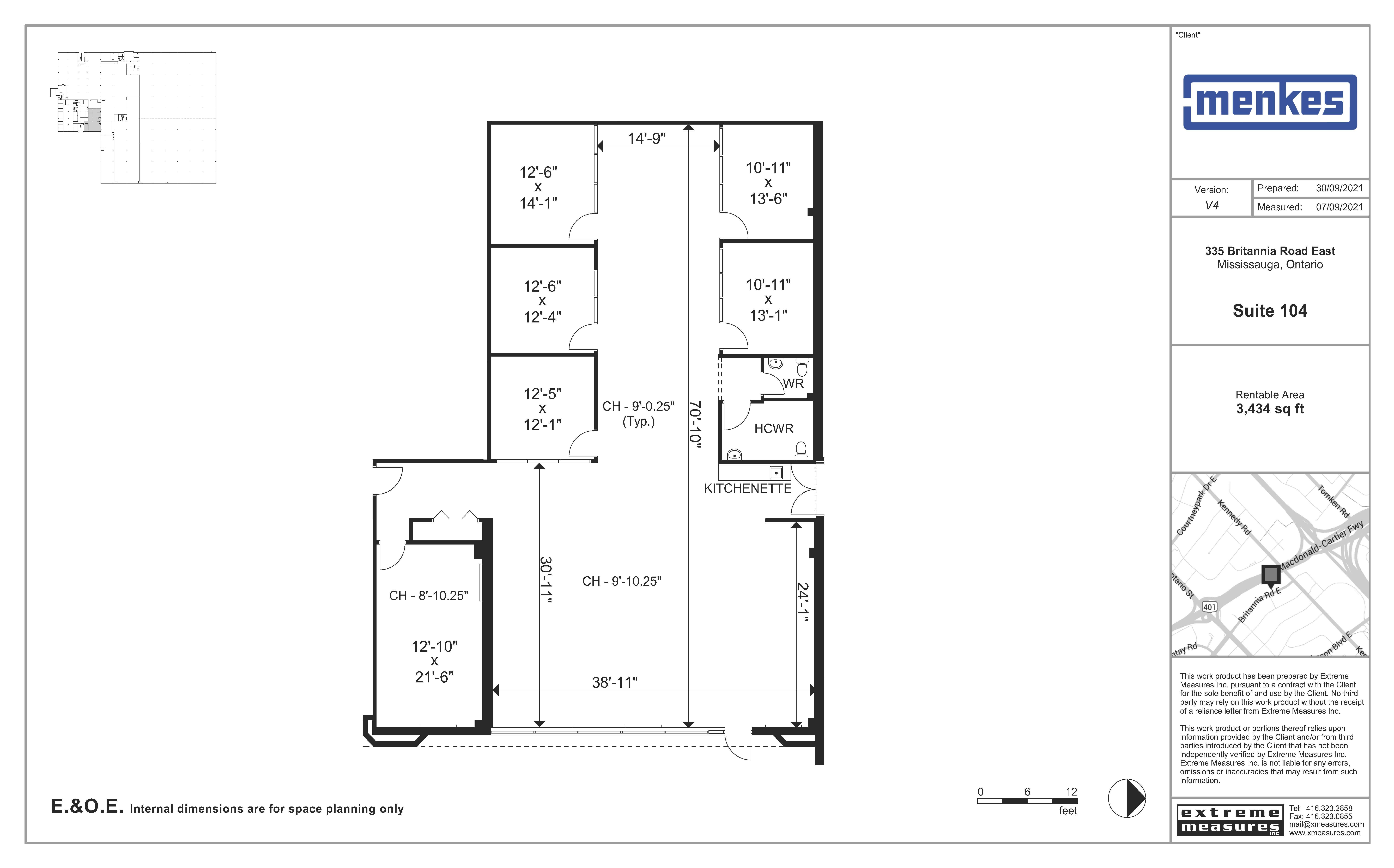 Floorplan thumbnail of Suite 104