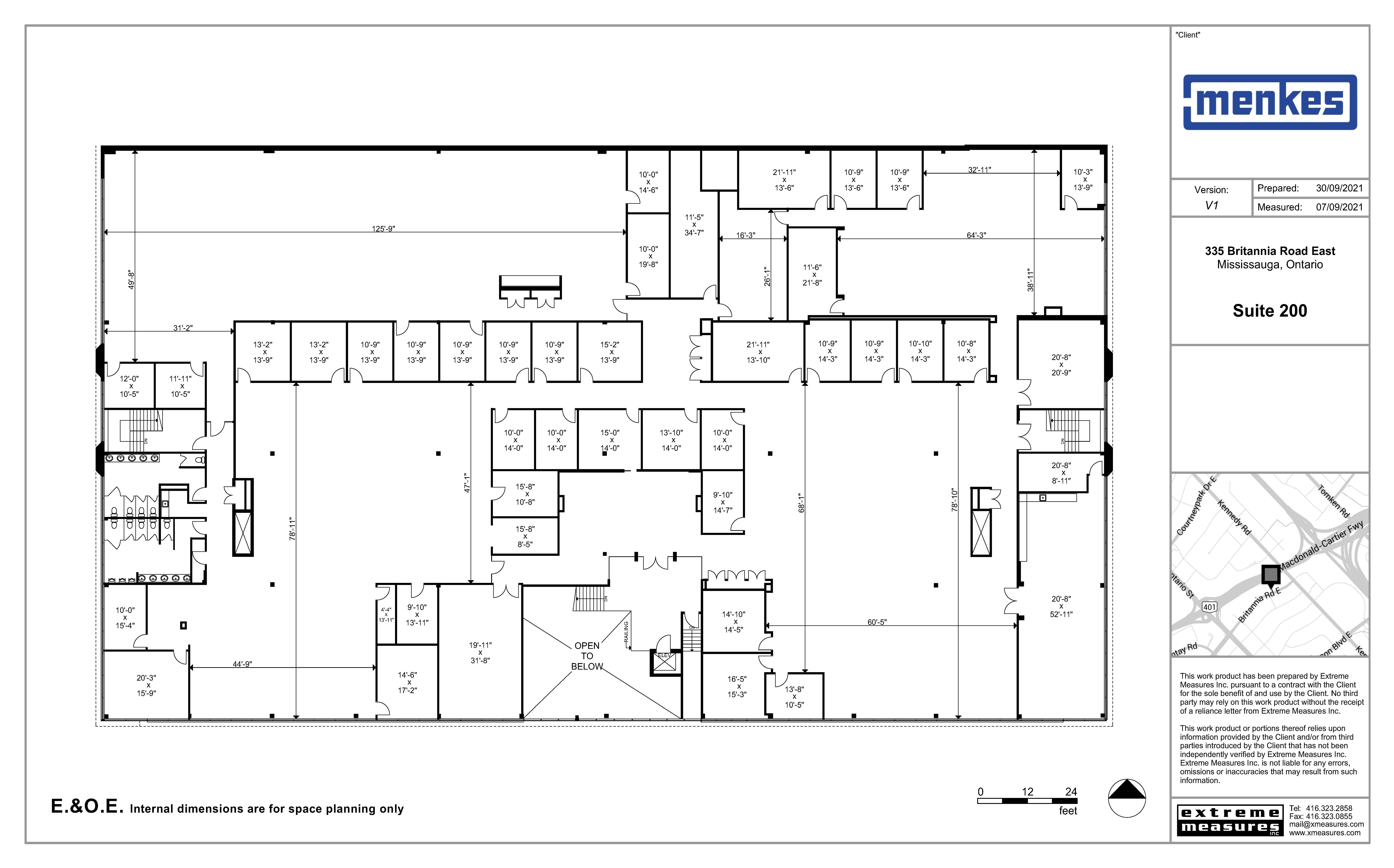 Floorplan thumbnail of Suite 200