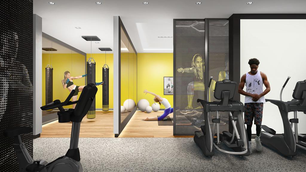 Gym/Yoga/Kickboxing Studio