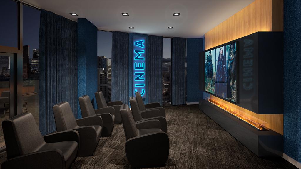 Multi-Media Theatre Room