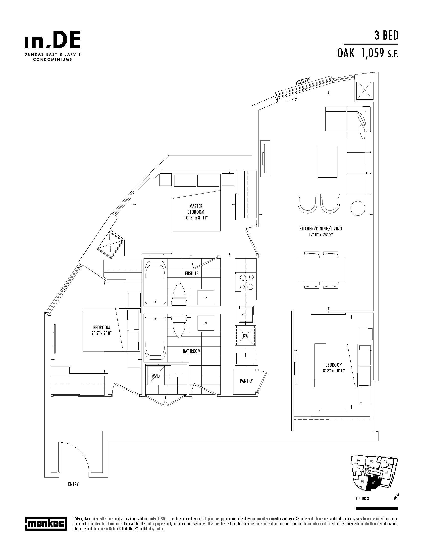 Floorplan thumbnail of Oak