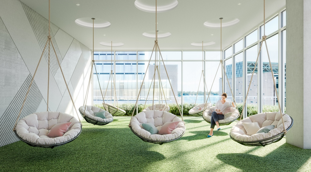 Indoor Hammock Lounge