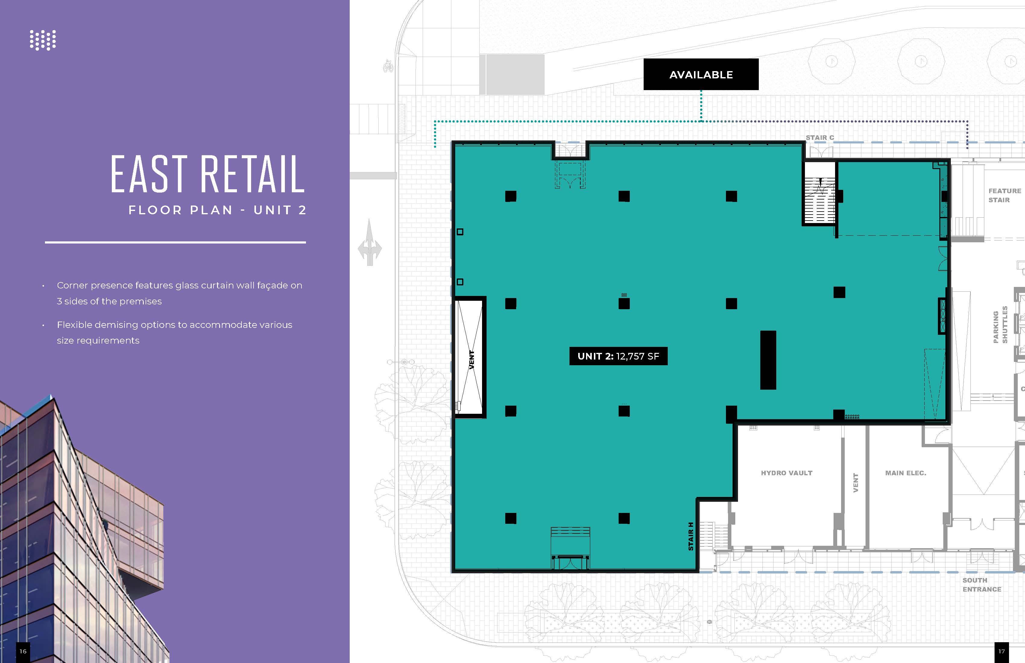 Floorplan thumbnail of East Retail Unit 2